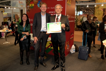 Travelife award ceremony