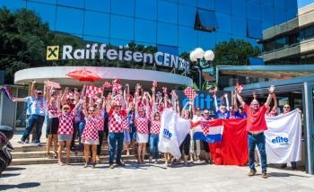 Elite Travel supports Croatia in the World Cup Final