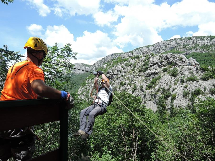 Zip Line from Makarska