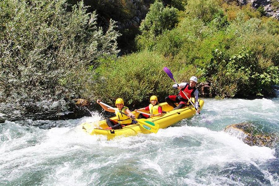 Rafting from Makarska