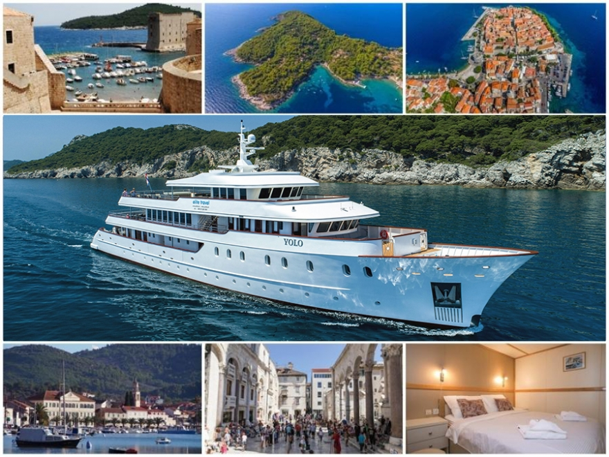 ADRIATIC PARADISE Cruise 2019 by Yolo - from Split