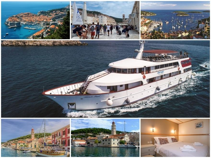 DALMATIAN ISLANDS Cruise 2019 by Adriatic Pearl - from Dubrovnik